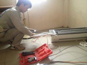 Tháo lắp điều hòa tại Khương Hạ